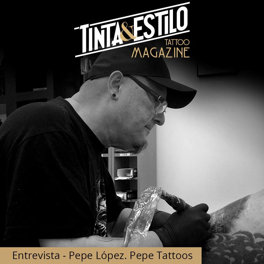 Pepe Lopez tattos