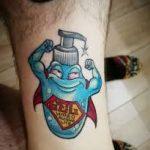Tatuaje Coronavirus - Tattoo Covid 19